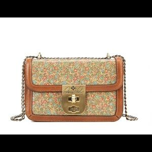 Patricia Nash Fleuriste Roanne Chain Crossbody Bag
